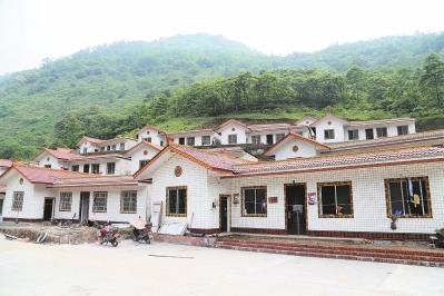 乡村修房房屋手绘图