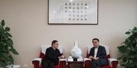 中科院与四川省举行工作会谈 - 科技厅