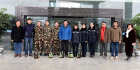 校领导带队看望慰问寒假春节期间在岗职工 - 西南科技大学