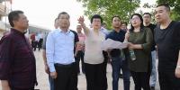 苟小莉率队调研督导火车站升级改造项目 - Qx818.Com