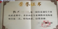 学校2013级直招士官生在某军种全军技能比武竞赛中取得佳绩 - 四川邮电职业技术学院
