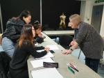 我校赴英教师团队认真参加进修培训 - 成都纺织高等专科学校